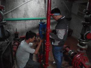 Sửa máy bơm phòng cháy chữa cháy