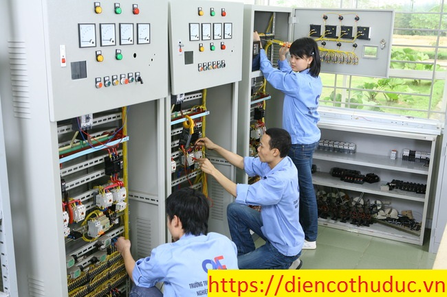 Thợ sửa điện công nghiệp Thủ Đức