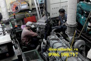 Thợ sửa máy phát điện tại TPHCM