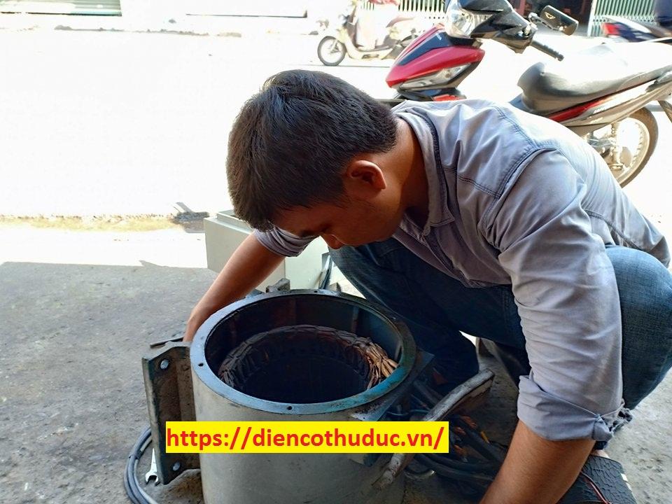 Sửa máy bơm công nghiệp Bình Dương