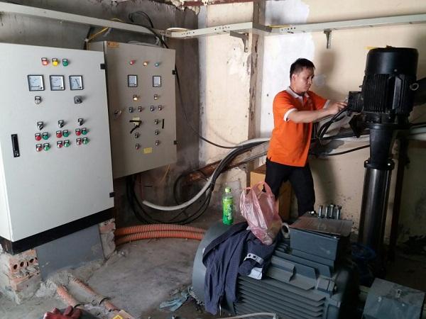 Sửa máy bơm công nghiệp quận 1