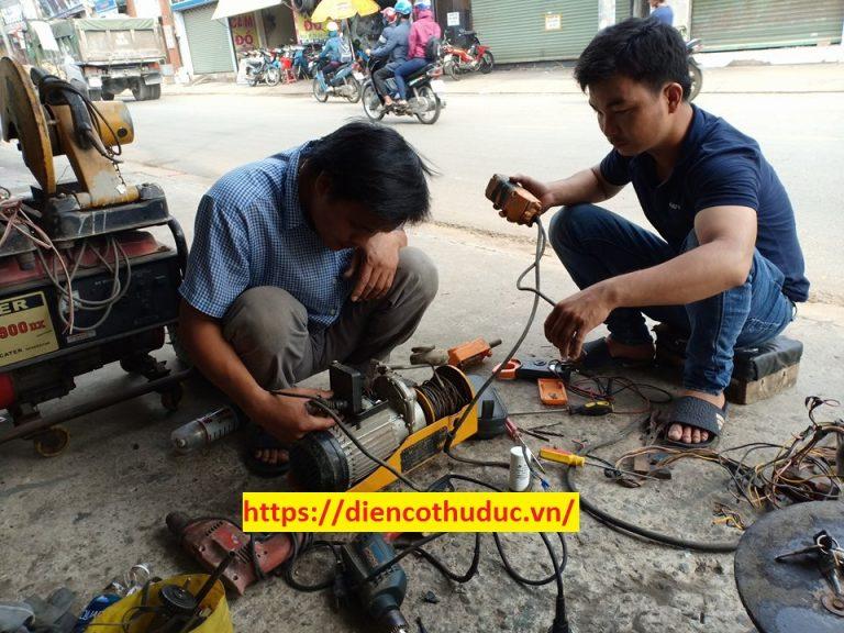 Sửa máy bơm công nghiệp
