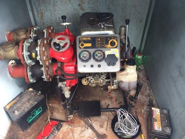 Sửa máy phòng cháy chữa cháy Bình Dương