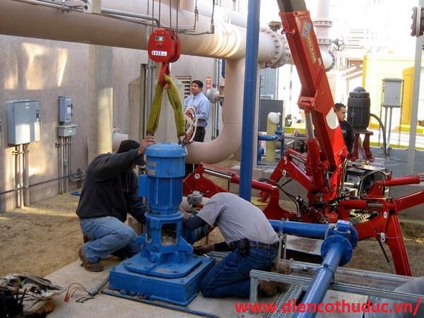 Sửa máy bơm công nghiệp quận 7