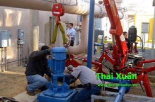 Sửa máy bơm công nghiệp Thuận An