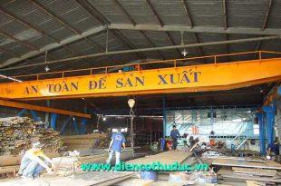 Thợ sửa cầu trục tại Bình Dương