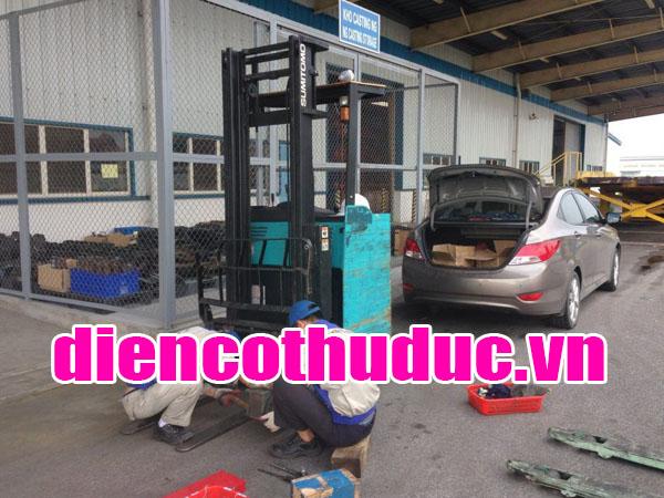 Sửa xe nâng điện Bình Dương lh 0906100717